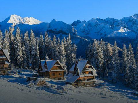 Małopolska domki drewniane całoroczne