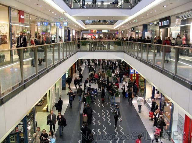 Galerie handlowe Kraków - godziny otwarcia